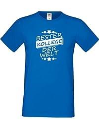 ShirtInStyle Männer T-Shirt Bester KOLLEGE der Welt,,viele Farben, Größe S-XXXL