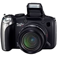 Canon PowerShot SX20 IS Digitalkamera (12 Megapixel, 20-fach opt. Zoom, 6,4 cm (2,5 Zoll) LCD-Display, HD-Movie, HDMI) schwarz