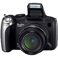 Canon PowerShot SX20 IS Fotocamera digitale (2 Megapixel, Zoom ottico 20x, Zoom, Display LCD da 6,4 cm (2,5 pollici), HD-Movie, HDMI), colore: Nero