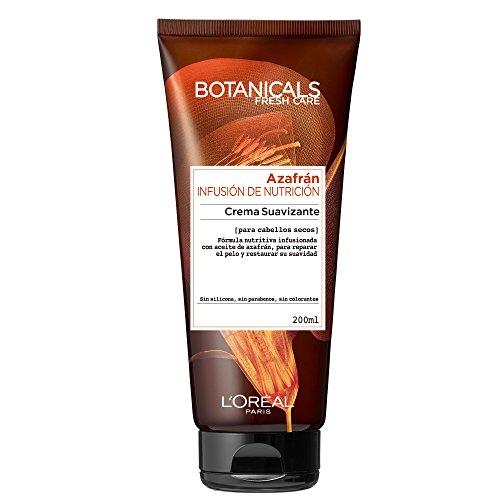 L'Oreal Paris Botanicals Nahrungsergänzungs-Infusion für trockene Haare Glättende Creme - Reiche Nährung -