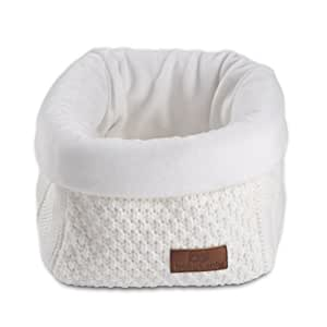 Baby's Only Corbeille de rangement Robust Mix blanc - Blanc