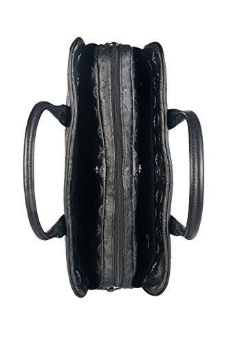 Armani Jeans Logo Briefcase Homme Sacs Noir Noir