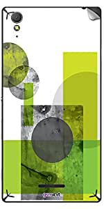GsmKart SXT3 Mobile Skin for Sony Xperia T3 (Green, Xperia T3-759)