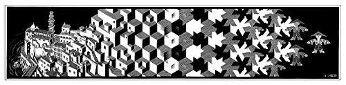 ESCHER - Metamorphosis I (Paneele 85x20 cm)
