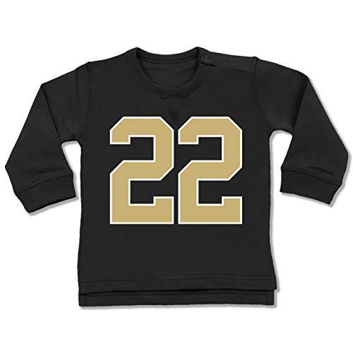 Sport Baby - Football New Orleans 22-12-18 Monate - Schwarz - BZ31 - Baby Pullover