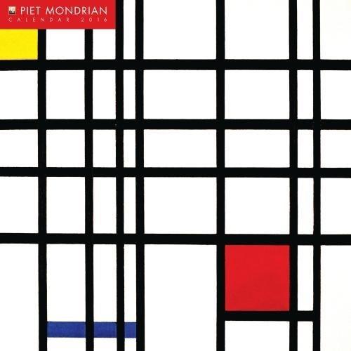 Piet Mondrian wall calendar 2016 (Art calendar)