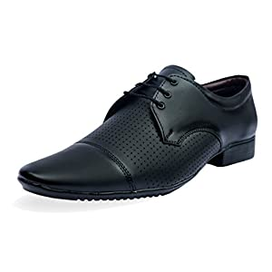 AXONZA Men's Synthetic Leather Formal Shoes