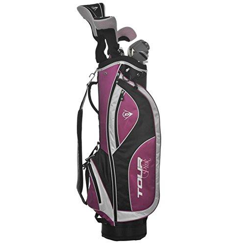 Dunlop tour femme graphite-set de clubs de golf 16 pièces Argent Argent