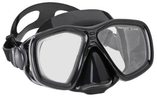 Aqua Lung Tauchmaske La Costa Dive Deluxe - Black - Maske 6 Behandlungen