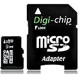 Digi Chip tarjeta de memoria MicroSD 32GB Clase 10 para Huawei Ascend Y221, Y520, Y550, G7, Honor 4X, Honor 6 & Honor 6X