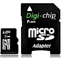 Digi-Chip 32 GO CLASS 10 UHS-1 MICRO-SD CARTE MÉMOIRE POUR Samsung Galaxy J1, Galaxy J2, Galaxy J3, Galaxy J5, Galaxy J7, J2 Pro & J3 Pro