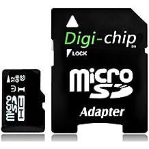 Digi Chip 32GB micro-SD clase 10para Huawei P8, P8Lite y teléfonos Huawei P9