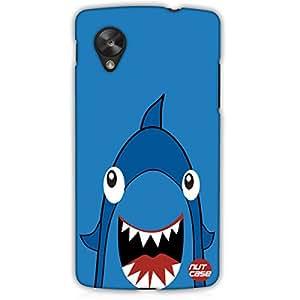 Designer Google Nexus 5 LG E980 Case Cover Nutcase - Blue Shark