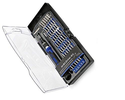 geekbox® 58in 1Magnetische Schraubendreher-Set/Precision Kit mit 54Bits–SCHRAUBENDREHER (All in One Kit) für kleine elektronische Geräte wie Handy, Tablets, PCs, Mac Bücher
