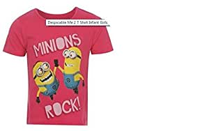DESPICABLE ME 2 T SHIRT AGE 5-6 YEARS- NEW