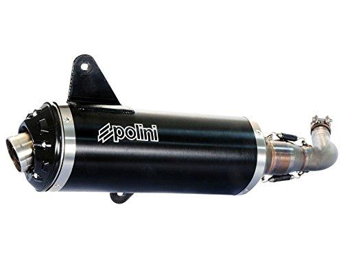 Sistema de escape Polini con certificado E para Vespa GTS/GTV 125–300