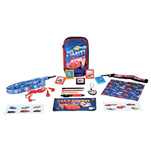 "Zubehör Set 16in1 für Nintendo DS Lite i XL 3DS ""Disney Cars Speed Circuit"""