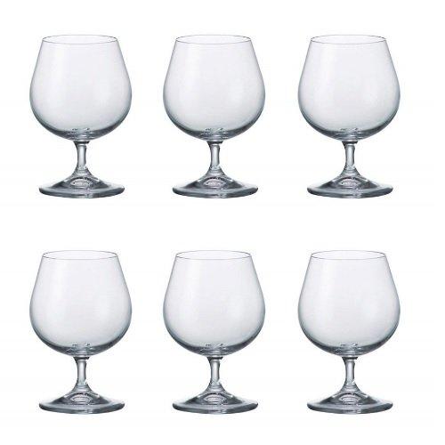 Bohemia Weingläser, Cognac Glasses Set of 6 Cognac Glas