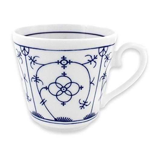 Eschenbach Porcelaine Group Tallinn Tasse conique 0,20 l Porcelaine, indien bleu, 1 x 1 x 1 cm