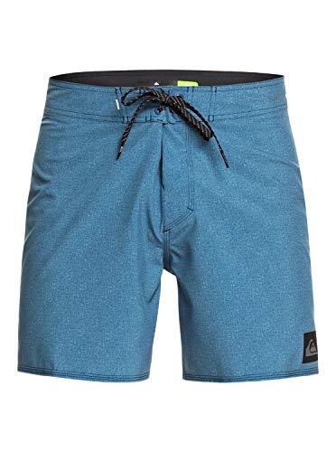 Quiksilver Highline Kaimana 16 Sr Pantalones Cortos, Hombre, Azul Majolica Blue, 34