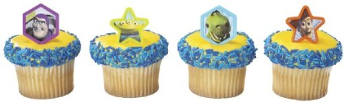 Toy Story Cupcake Rings - 12ct by Toy Story