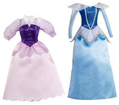 Disney Princesses T7234 - Set de 2 vestidos para La Bella Durmiente de Disney Princesses