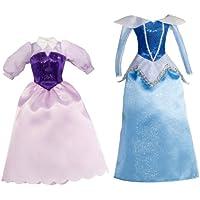 Disney Princesses T7234 - Set de 2 vestidos para La Bella Durmiente