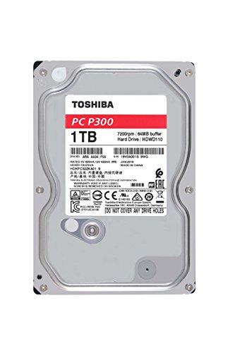 """Toshiba P300 - Disco Duro Interno de 1 TB (8,9 cm (3,5""""), SATA)"""