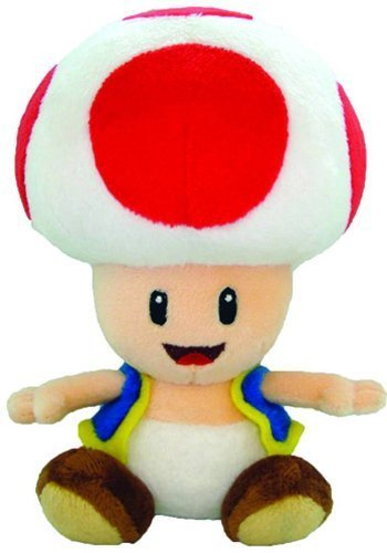 Super Mario Toad Plüsch, 15,2cm ()