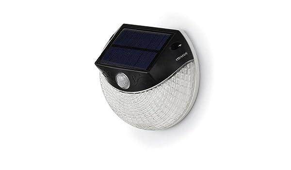 Solar Wandlamp Tuin : O daddy solar wandlamp met bewegingsmelder secunda led amazon