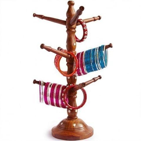 Frauen-Tagesgeschenk Holz Bangles Ständer, Armreif Aufhänger, Armband-Halter, Turm hängen Spezielle Geschenke am (Geschenke Für Den Mann Online-shopping)