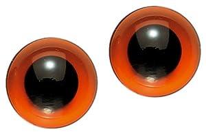 Gütermann / KnorrPrandell 2470160 - Animales de Cristal de 16 mm de diámetro Ojos Marrones, 2 Piezas / Bolsa Importado de Alemania