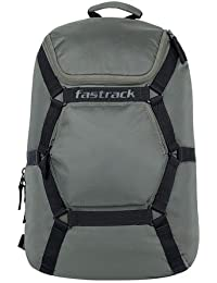 Fastrack 28.76 Ltrs Green School Backpack (AC030NGR01)