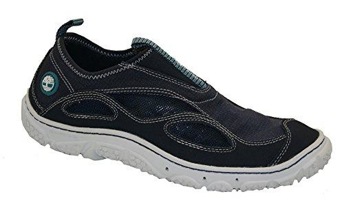 Timberland Damen Wake FTP Slip On Bootsportschuhe, Blau/Navy/White, 39 EU