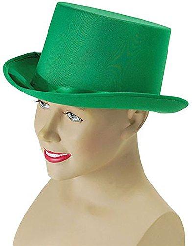 Bristol Novelty bh498Top Hat, grün, One - Halloween-ideen Musikalische