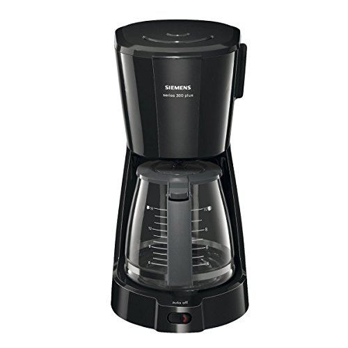 Siemens TC3A0303 Series 300 Plus - Cafetera de goteo, color negro