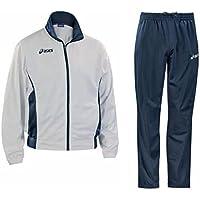 d3246aa224 ASICS Tuta sportiva junior giacca + pantaloni VICTOR bianco blu T226Z5
