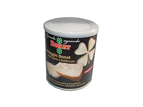 Preisvergleich Produktbild Azienda Agricola Bonat - Parmigiano Reggiano - 2 Cans of Parmigiano Lyophilized and Grated - 300 g x 2