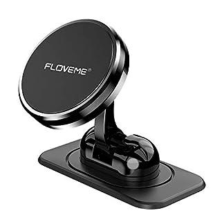 FLOVEME-Handyhalterung-Auto-Magnet-Armaturenbrett-Magnetische-Handyhalter-frs-Auto-mit-Klebrige-Basis-Einstellbar-KFZ-Handy-Halterung-Kompatibel-fr-iPhone-11-Pro-XS-XR-X-8-7-Samsung-Huawei-usw