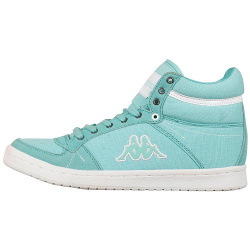 Kappa Lara Sun Footwear Women, Textile/leather, Peu femme Vert - Grün (3710 MINT/WHITE)