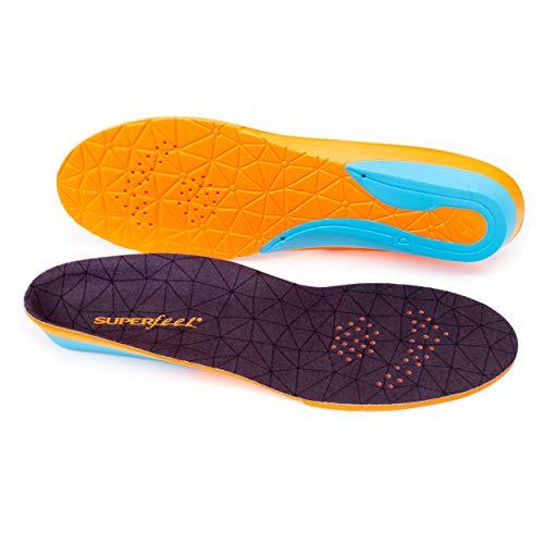 superfeet Einlegesohle Flex Mid, Blau/orange, 45, FL142300