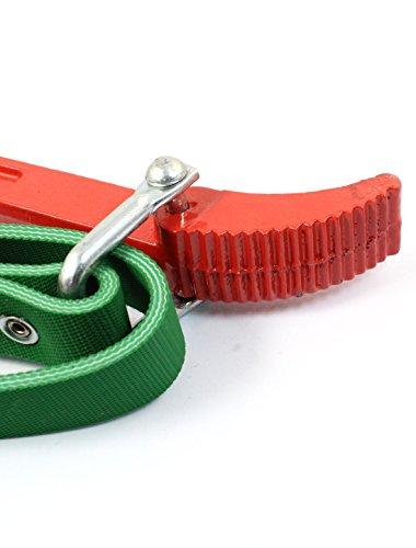 Green Belt Öl-Filterschlüssel Bandschlüssel Reparatur-Werkzeug, Rot
