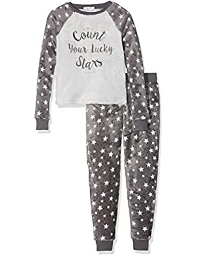 New Look Count Stars Fleece Onesie, Tuta Bambina