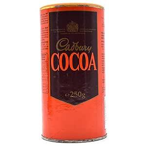 Cadbury's Pure Cocoa Powder Tin - 250 g (Unsweetened)