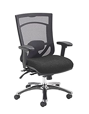 Office Hippo Ergonomic Heavy Duty 24 Hour (152kg Tolerance) Mesh Back Office Chair With Arms produced by office hippo - quick delivery from UK.