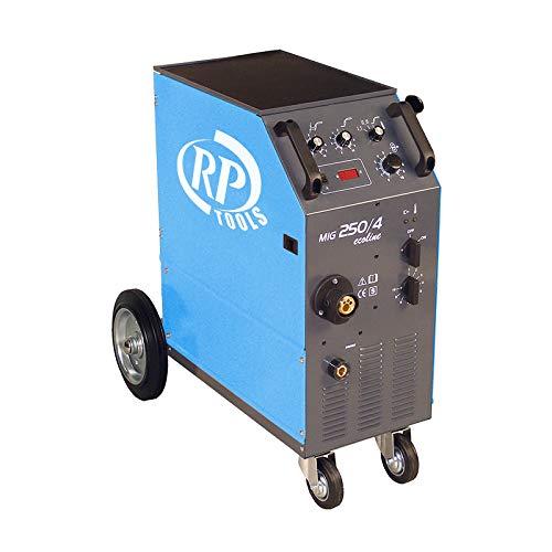 Schutzgas Schweissgerät Schweißgerät ecoline MIG MAG luftgekühlt 15-250 A 3x400V digital 0.6-1.2 mm 4 Rollen Vorschub Made in EU