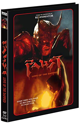 Faust - Love of the Damned - 2-Disc Mediabook - Cover D - Limitiert auf 222 Stück (+ DVD) [Blu-ray]