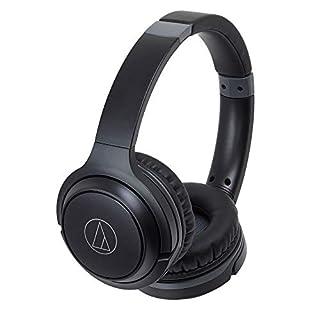 Audio-Technica ATH-S200BT Wireless On-Ear Headphones Black