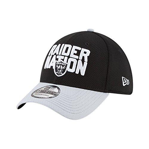 c06ff7396 New Era NFL Oakland Raiders 2018 Draft Spotlight 39Thirty Cap S-M - Buy  Online in Oman.