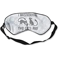 I Was Normal Two Cats Ago 99% Eyeshade Blinders Sleeping Eye Patch Eye Mask Blindfold For Travel Insomnia Meditation preisvergleich bei billige-tabletten.eu